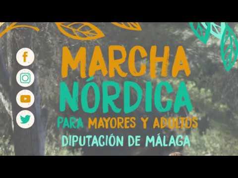Marcha Nórdica para Mayores - Diputación de Málaga