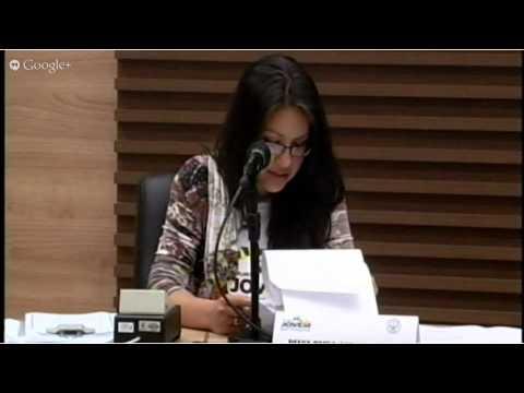Sessão do Parlamento Jovem