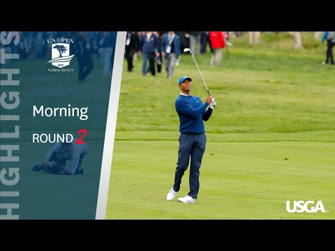 2019 U.S. Open, Round 2: Morning Highlights