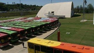VÍDEO: População do município de Ribeirão das Neves recebe 60 ônibus novos