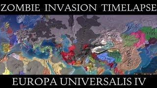 EU4: Zombie Invasion Mod (Without Jan Mayen) Timelapse
