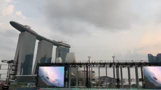 Video Air Show at NE 2 NDP 2018 MP3, 3GP, MP4, WEBM, AVI, FLV Agustus 2018