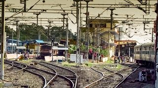 Erode India  City pictures : Arriving and Departing from Erode Junction - Indian Railways