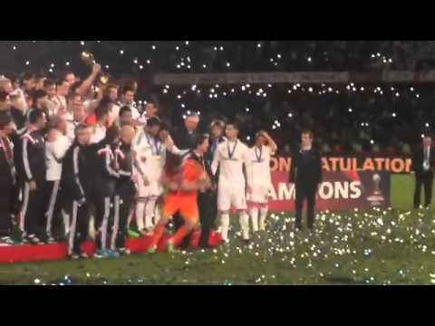 champions - El Real Madrid se proclama Campeón del Mundo contra San Lorenzo en Marrakech Subscribe to Real Madrid on YouTube: http://bit.ly/NSyxv8 Like Real Madrid on Facebook: ...