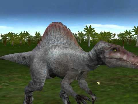 jpog jp3 tyrannosaurus rex vs spinosaurus
