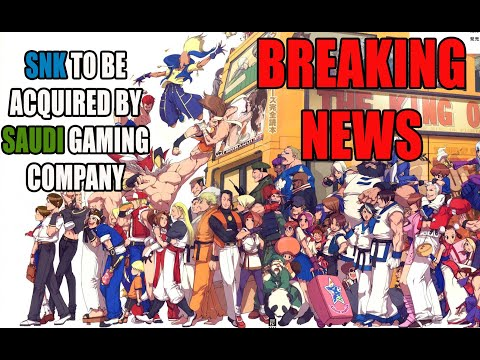 BREAKING NEWS: Saudi Gaming Company To Become The Largest Shareholder Of SNK