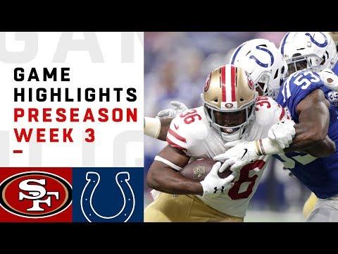 49ers vs. Colts Highlights | NFL 2018 Preseason Week 3