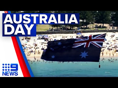 Searing heat, beach parties and protests on Australia Day | 9 News Australia