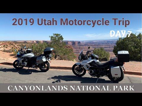 Utah Motorcycle Trip Day 7 - Canyonlands Nat'l Park Utah