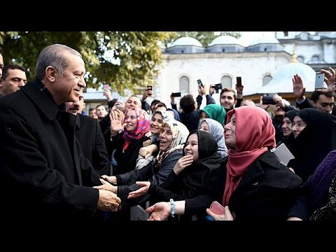 Ενότητα ζητεί ο ισχυρός άνδρας της Τουρκίας