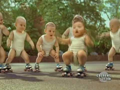 Baby Skates Sensation