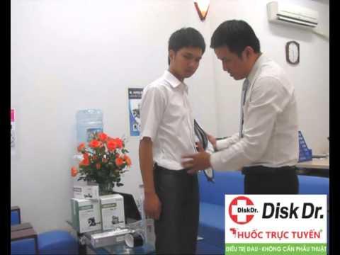 Đau lưng và cách điều trị với đai kéo giãn cột sống Disk Dr WG-50