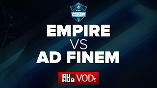 Ad Finem vs Empire, game 2