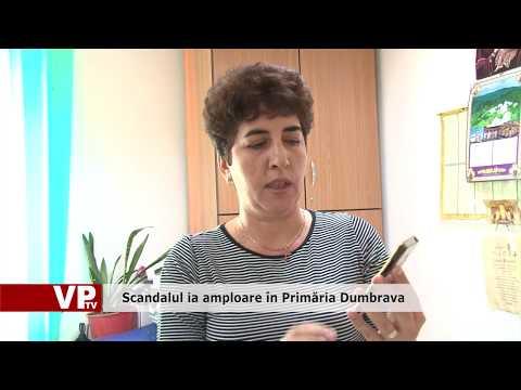 Scandalul ia amploare în Primăria Dumbrava