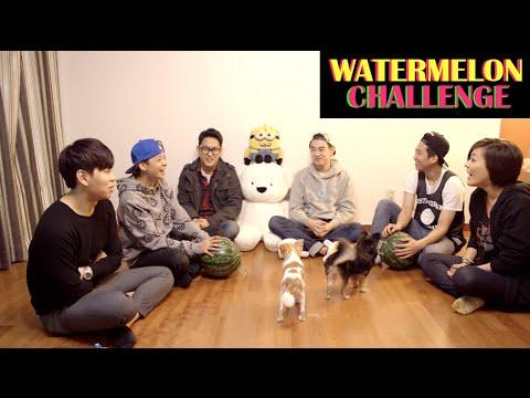 Watermelon Challenge ft. Eric Nam + Friends!
