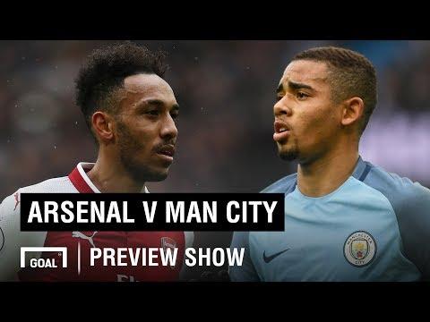 Arsenal v Man City Premier League preview show