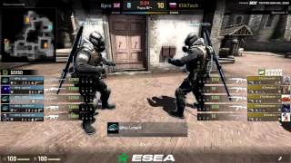 ESEA Premier Season 25 Europe | KlikTech VS Bpro | By Tonik