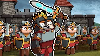 Play as a MEDIEVAL KNIGHT in Minecraft! (Castle Siege)