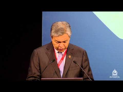 H.E. Dato' Seri Dr. Ahmad Zahid bin Hamidi, Malaysia Ministry Home Affairs, Monaco, 2014