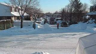 Laval (QC) Canada  City pictures : Snow removal in Laval Quebec Canada