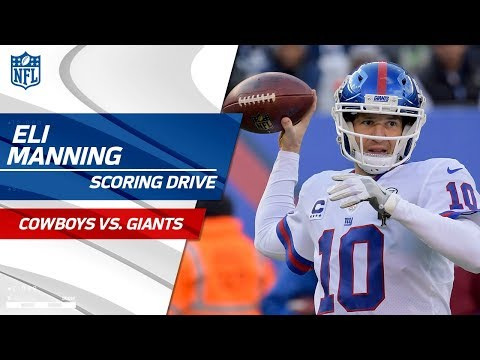 Video: Eli Manning Leads New York to a FG on 1st Drive Back as Starter! | Cowboys vs. Giants | NFL Wk 14