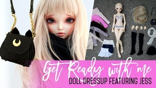 Hello! In today's Get Ready With Me episode I am trying out different combinations of clothes to match with my brand new handmade over the knee boots :) And what better way to make things even cuter by giving her a Sailor Moon Luna bag!Dolls featured in this video:Jess - she is a Fairyland Minifee A-line Chloe - you can purchase her from dollfairyland.com or denverdoll.com ------------------------------------------« V I D E O  &  S O U N D  E Q U I P M E N T » ⤵︎⤵︎⤵︎Canon 80D »»» http://amzn.to/2kcVwYUAudio-Technica microphone »»» http://amzn.to/2kdeqitUmbrella Lights  »»» http://amzn.to/2jGY8e4------------------------------------------« L I N K S » ◦ Patreon ★ https://www.patreon.com/nicollesdreams◦ Gumroad ★ https://gumroad.com/nicollesdreams◦ Instagram ★ http://instagram.com/andreja◦ Facebook ★ tinyurl.com/Nicolles-Dreams-FB◦ Twitter ★ @nicolles_dreams------------------------------------------« QUESTIONS? »◦ Doll F.A.Q. http://tinyurl.com/bjd-faq◦ Q&A 01 video http://www.youtube.com/watch?v=2z1pywWVVVc◦ Q&A 02 video http://www.youtube.com/watch?v=7FBxRR5p6G8◦ Basic Faceup Materials https://www.youtube.com/watch?v=Rz0LvDXGTPM◦ How I seal faceups https://www.youtube.com/watch?v=dr8-tnUDKHc------------------------------------------« C O N T A C T » For Business Inquiries & Collaborations: nicolles.dreams.shop@gmail.com------------------------------------------« P.O. BOX »Andreja, P.O. Box 240, Chadstone Centre, VIC 3148 Australia------------------------------------------« D I S C L A I M E R » This video and description contains affiliate links, which means that if you click on one of the product links, I'll receive a small commission ( it does not make the product more expensive ). This helps support the channel and allows me to continue to make videos like this. Thank you for the support! :)