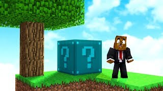 *No Rules* NEW Big Lucky Block Sky Wars - Minecraft Modded Minigame | JeromeASF