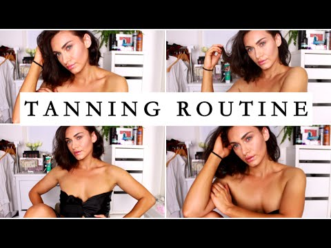 My At Home Salon Quality Tanning Routine | RubyGolani
