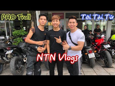 Tới Tài Tử Giao Lưu Gặp Gỡ NTN Vlogs và PHD Troll ở Đại Hội Motor Festival 2019. - Thời lượng: 13:37.