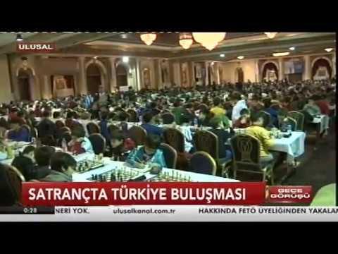 Ulusal Kanal - Antalya'da Satranç Turnuvası 28 Ocak 2017