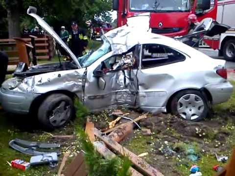 Autor: KPP Lubartów. Źródło: http://lubelska.policja.gov.pl/lub/komendy-policji/kpp-w-lubartowie/aktualnosci/43978,Wolka-Zablocka-Grozny-wypadek-video.html