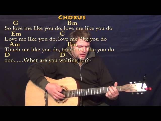Love Me Like You Do Ellie Goulding Strum Guitar Cover Lesson With Chords Lyrics : Mp3FordFiesta.com