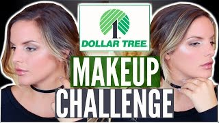 FULL FACE USING DOLLAR TREE MAKEUP CHALLENGE! $11.00 Makeup Tutorial | Casey Holmes by Casey Holmes