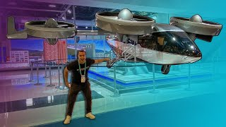 CRAZY $10,000,000 DRONE IS THE NEW UBER! by Vehicle Virgins