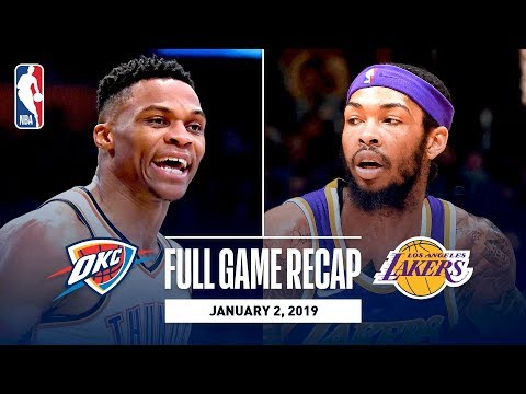 Video: Full Game Recap: Thunder vs Lakers | George Leads OKC In LA
