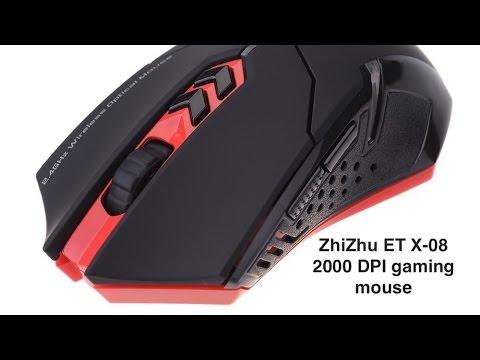 ZhiZhu ET X 08 2000DPI gaming mouse