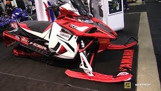 8. 2019 Yamaha Sidewinder X-TX SE 141 Sled - Walkaround - 2018 Toronto ATV Show