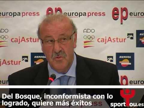 Palabras de Vicente del Bosque sobre el éxito de la Selección Española