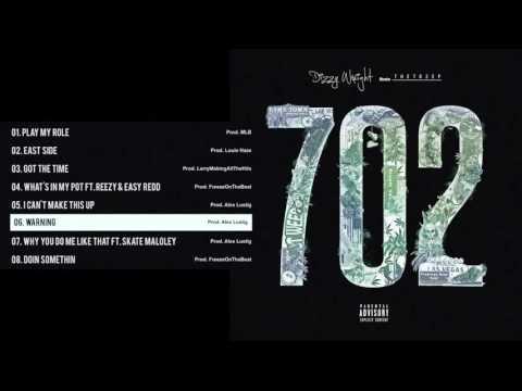 Download Dizzy Wright - Warning (Prod by Alex Lustig) MP3