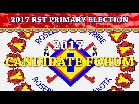 2017 Candidate Forum (RST Primary Election)