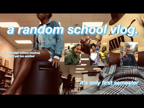a RANDOM high school vloggy vlog