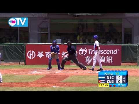 Nicaragua blanquea a Cuba en Mundial Sub-12