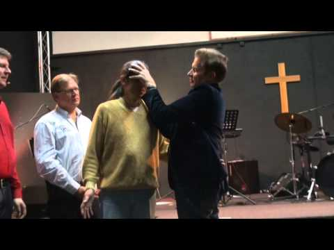 Muslim healed from painful frozen neck, deaf ear & receives Christ as Lord - John Mellor Miracles