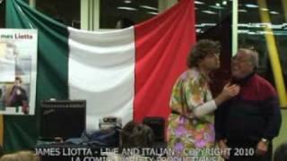 JAMES LIOTTA - LIVE PERFORMANCE - ITALIAN COMEDY