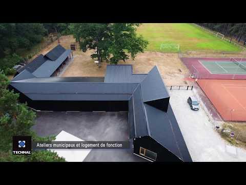 Ateliers municipaux et logement de fonction, Poigny-la-Forêt (78)