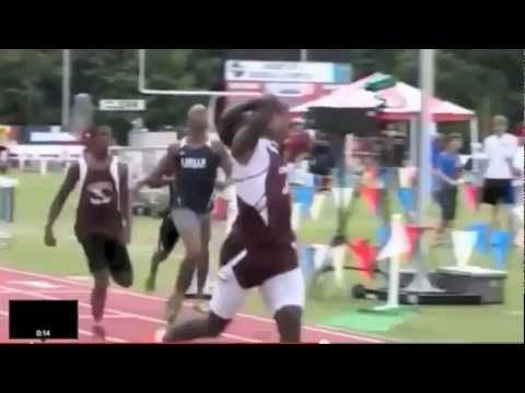 Tyreek Hill 2012 GHSA Track Championships video.