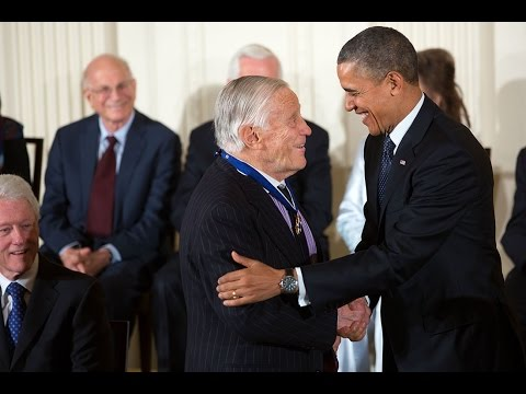 Honoring Ben Bradlee with the Medal of Freedom