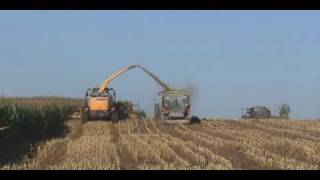 5. New Holland FR9090 Harvesting Corn in Indiana