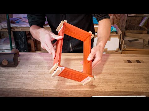 How to Glue a Dovetailed Box | Dovetail Box Student Series #7 | Free Online Woodworking School