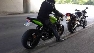 8. Triumph Street Triple soung of HP - Corse Hydroform